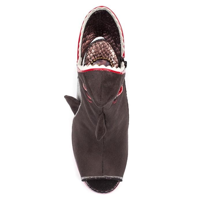 Irregular Choice Bite Me A High Heel Shark Open Toe Shoes