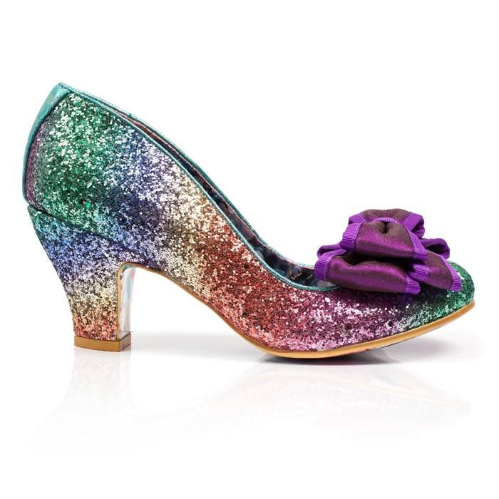 Irregular Choice Lady Ban Joe rainbow