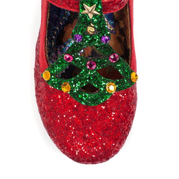 irregular choice nicely festive red